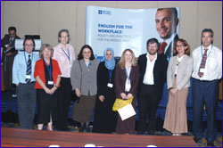 PHOTO: Speakers at Bahrain Conference