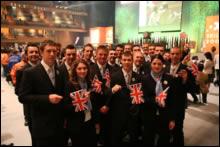 PHOTO: 2007 WorldSkills UK Team