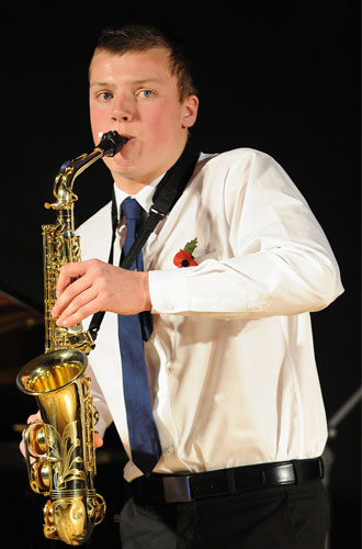High School of Glasgow - Alasdair Campbell-Birkett, saxophone