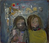 IMAGE: Joan Kathleen Harding Eardley, Children and Chalked Wall 3, Scottish National Gallery of Modern Art