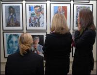PHOTO: Art Exhibition students