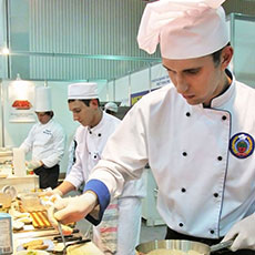 SVQ in Professional Cookery at SCQF level 5