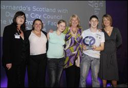 PHOTO: The Barnardo's winning team