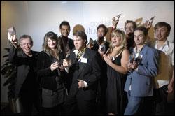 PHOTO: Winners of the Herald Student Press Awards