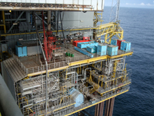 Accessing Operations and Rigging (Construction): Scaffolding and Offshore Scaffolding