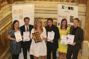 PHOTO: Write Stuff winners