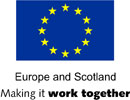 LOGO: Europe and Scotland.