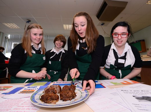 Credit: Food and Drink Federation - Make it with Meat at Bathgate Academy