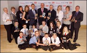 PHOTO: Winners of the 2008 Scottish Education Awards