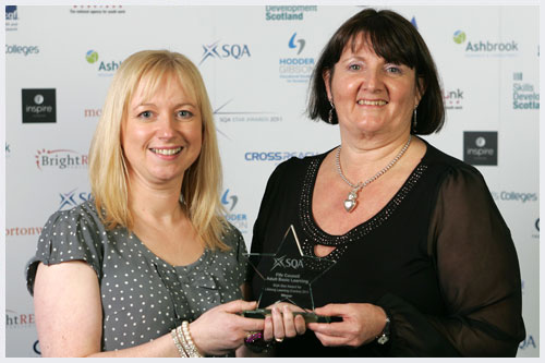 Winner: Fife Council Adult Basic Education
