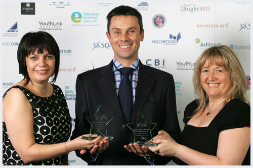 Winner: Langside College and Scottish Institute for Residential Child Care