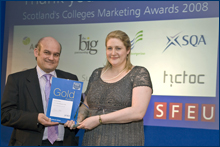 PHOTO:  Colleges Marketing Awards