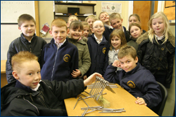 PHOTO: School children at the Moray Science Festival