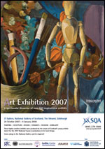 IMAGE: Art Exhibition 2007 flyer