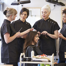 PDA Hairdressing Practice SCQF level 8