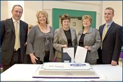 PHOTO: Janet Brown at launch of paralegal qualifications
