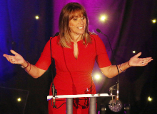 Carol Smillie presenting Star Awards 2019