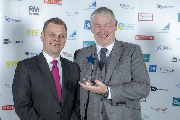 Gordon Gibb, Polaris Learning, with award
