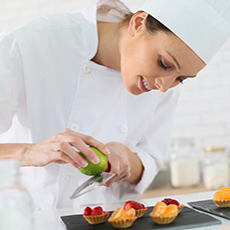 Professional Cookery (Patisserie and Confectionery) at SCQF level 7
