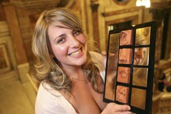 PHOTO: Louise Brown, Scottish Student Journalist of the Year 2007